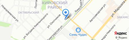 Центр потолков на карте Перми
