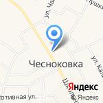 Дакар на карте Чесноковки