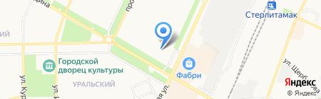 Паллада на карте Стерлитамака