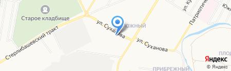 ТехноПроф на карте Стерлитамака