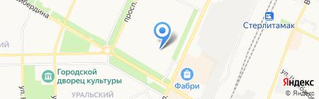 ТЖХ на карте Стерлитамака