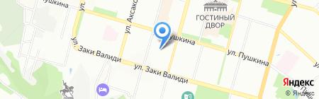 Детский сад №22 на карте Уфы