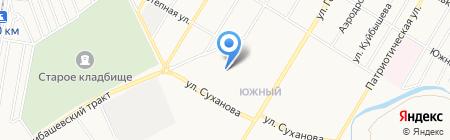 Танечка на карте Стерлитамака