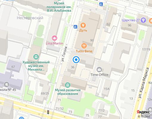 Товарищество собственников жилья «Престиж-дом» на карте Уфы