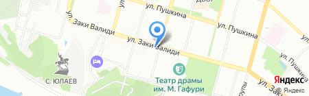 Глобалконсалт на карте Уфы