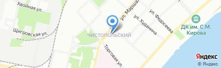 Фартовый на карте Перми