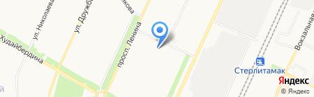 Шотокан на карте Стерлитамака