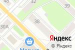 Схема проезда до компании Академия посуды в Перми