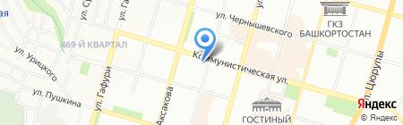 Уфаимпэкс на карте Уфы