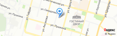 Банкомат БИНБАНК кредитные карты на карте Уфы