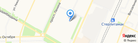 Детский сад №51 Заинька на карте Стерлитамака