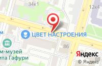 Схема проезда до компании Абсолют-Тольятти в Самаре