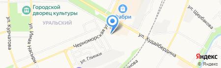 Кондитерский магазин на карте Стерлитамака