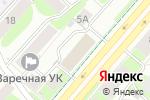 Схема проезда до компании Домовед в Перми