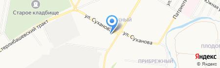 АЗС Salavat на карте Стерлитамака