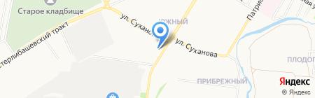 Почтовое отделение №30 на карте Стерлитамака