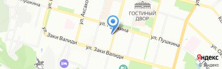 Doner house на карте Уфы