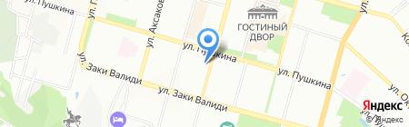 Сонар на карте Уфы