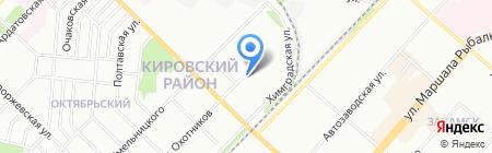 Детский сад №148 на карте Перми