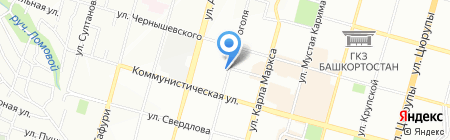 FOREX CLUB на карте Уфы