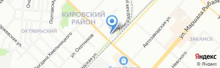 Турснаряжение на карте Перми