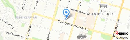 Руслан на карте Уфы