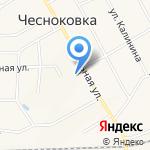 Средняя общеобразовательная школа с. Чесноковка на карте Чесноковки