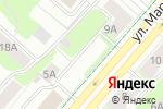 Схема проезда до компании Юридическая консультация в Перми