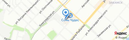 Омикрон-М на карте Перми