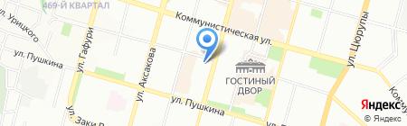 Кировский районный суд г. Уфы на карте Уфы
