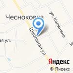 Красный Ключ-Аква на карте Чесноковки