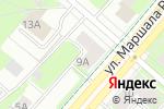 Схема проезда до компании Голубая роза в Перми