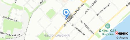 Мишель на карте Перми