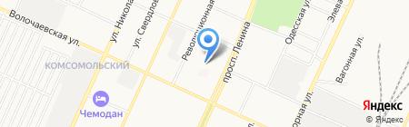 Средняя общеобразовательная школа №2 на карте Стерлитамака