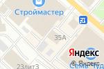 Схема проезда до компании Алёнка в Перми