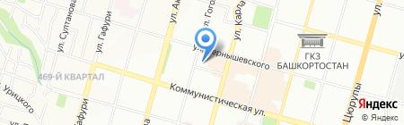 Константа-тур на карте Уфы