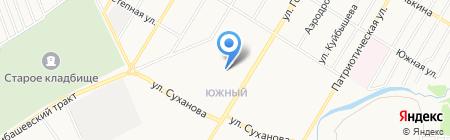 Святой на карте Стерлитамака