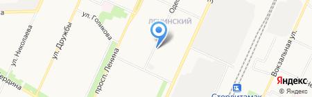 БашГУ на карте Стерлитамака