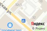 Схема проезда до компании Ателье в Перми