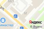 Схема проезда до компании Амега в Перми