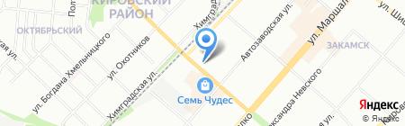 Мегри на карте Перми