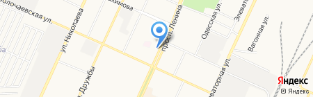 Стоматолог и Я на карте Стерлитамака