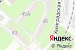Схема проезда до компании Шар-дизайн в Перми