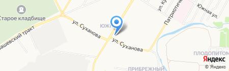 Магазин колбасных изделий на карте Стерлитамака