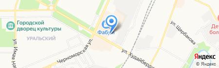 Отдел Военного комиссариата Республики Башкортостан по г. Стерлитамак и Стерлитамакскому району на карте Стерлитамака