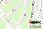Схема проезда до компании Ванильное небо в Перми