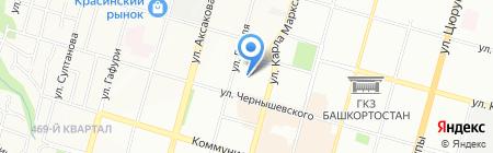 Детский сад №185 на карте Уфы