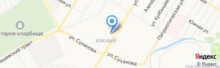 Сеть супермаркетов на карте Стерлитамака