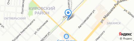 СуперСтрой-Пермь на карте Перми
