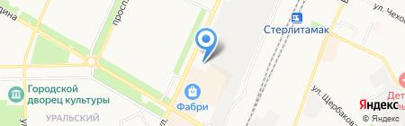 Рона на карте Стерлитамака